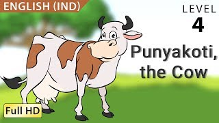 """Punyakoti, the Cow : Learn English (IND) with subtitles - Story for Children """"BookBox.Com"""""""