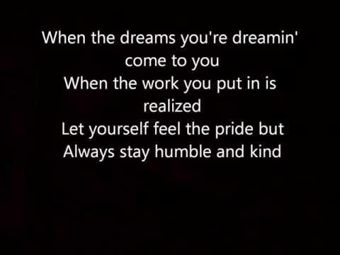 Humble and Kind Tim McGraw with  Lyrics