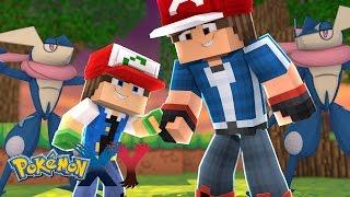 Minecraft: Pokemon X Y - FILHO DO ASH ABANDONOU OS LENDARIOS #61