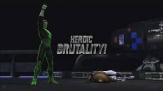 Mortal Kombat vs. DC Universe - Finishing Moves Trailer