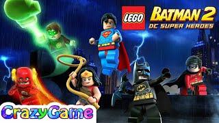 LEGO Batman DC Super Heroes Full Game Movie - All Cutcenes