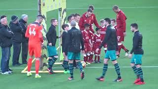 Liverpool 3 V Southampton 0