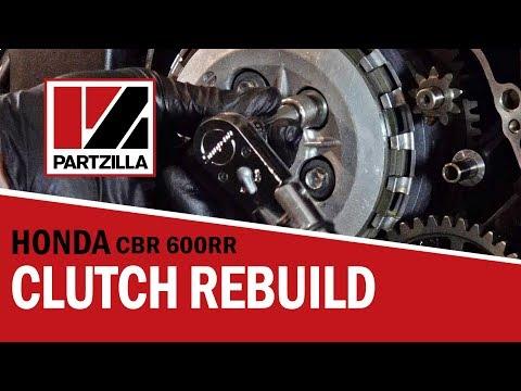 How to Rebuild the Clutch on a Honda CBR 600 RR | Partzilla.com