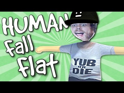PLAYING AS YUB! Human Fall Flat Gameplay & Funny Moments