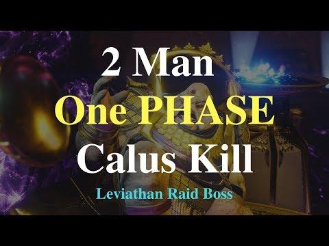 Xxx Mp4 2 Man One PHASE Calus Kill Leviathan Raid Boss 3gp Sex