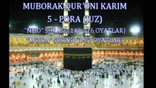 6-PORA. QUR'ON TAFSIRI -