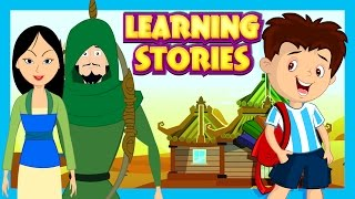 Mulan and Robin Hood Story For Kids || Learning Stories For Kids || Traditional Stories