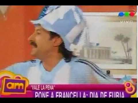 Vale la pena AM Pone a Francella Dia de furia por un partido del mundial 15 09 09