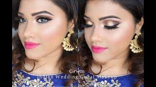 GRWM | Wedding Guest Makeup Look| Bangladeshi Indian Pakistani |