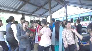 jham jham darkiyo pani live dancing in picknik 2070 2 banbatika