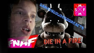 [SFM FNaf] DIE IN A FIRE | Song Animation reaction | It won't be first time you'll die