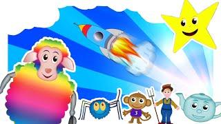 THE BEST CHILDREN'S NURSERY RHYMES | 46 MINS LONG: Nursery Rhymes Playlist