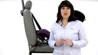 Using a Locking Clip with a Diono Convertible Car Seat