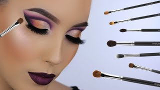 BEST BRUSHES FOR EYESHADOW APPLICATION!