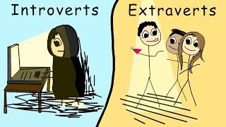 Casually Explained: Introverts and Extraverts