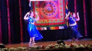 Dance Performance to Ama Gaon Ku and Mora Mana Udi Jaye Re by Amisha and Alisha Paul