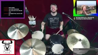 My Heart Will Go On - Recorder By Candlelight by Matt Mulholland (Drum Cover)