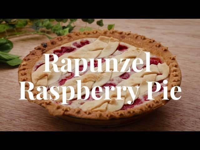 Rapunzel Raspberry Pie | Dishes by Disney