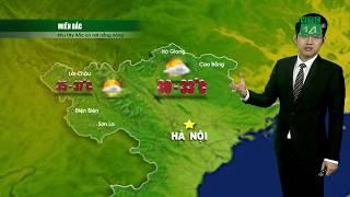 VTC14 | Thời tiết 12h 13/04/2018 | Miền Bắc nắng nóng phân hóa rõ rệt vùng núi và đồng bằng từ 30-35
