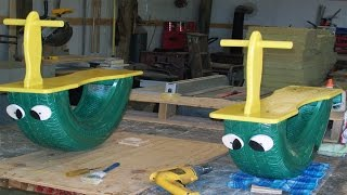 Recycled Tire Projects Swings, See-saw