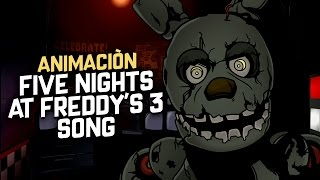 FIVE NIGHTS AT FREDDY'S 3 SONG ANIMACIÓN (Animation) By Cpido