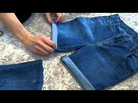 Шорты из старых джинсов своими руками