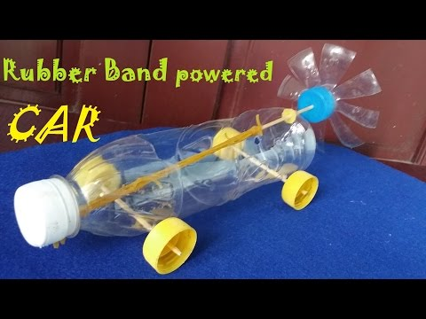 How to make a car using recycled materials (project)
