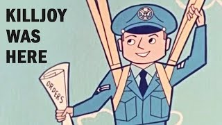 How to Behave Off-Duty: Killjoy Was Here   US Air Force Animated Training Film   1956