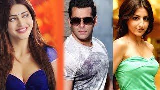 Bollywood News in 1 minute - Salman Khan, Shruti Hassan, Soha Ali Khan