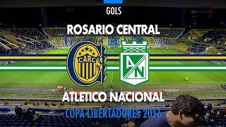 Gol - Rosario Central 1 x 0 Atletico Nacional - Libertadores - 12/05/2016