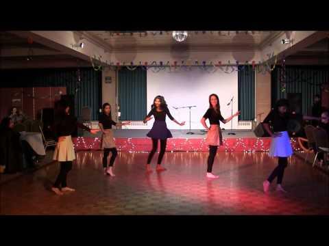 Desi Girls Dance Performance, Diwali Night '14, ISA, UMDuluth