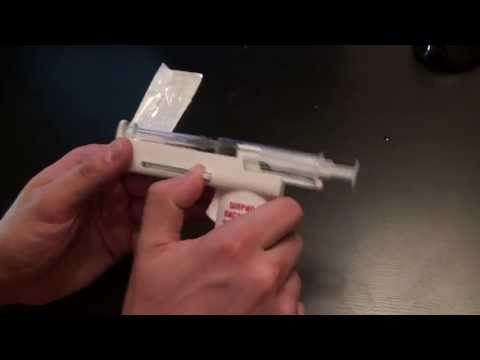 Как сделать укол из бумаги