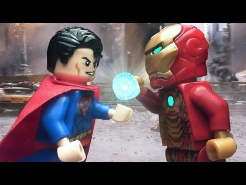 Lego Marvel and DC Superheroes Iron Man VS Superman