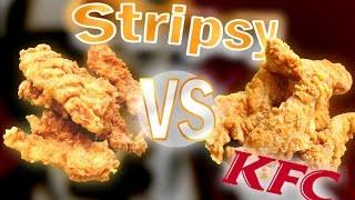Jak zrobić Stripsy z KFC z PRAWDZIWĄ Panierką TEST i PRZEPIS ( Domowe VS Oryginalne ) [KR]