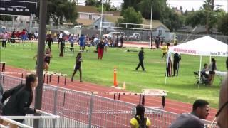 BHS at League Prelims 2015 Girls Frosh 1600 Heat 1