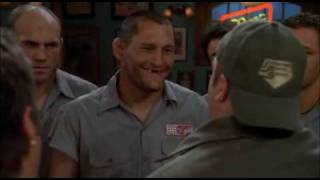 Randy Couture, Frank Trigg, Dan Henderson, Quinton Rampage Jackson in King of Queens
