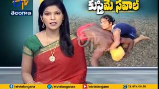 Dangal Girl Seen at a Wrestling Competition | Held at Nizamabad District
