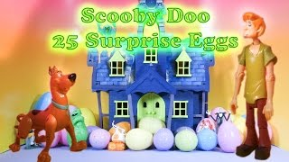 SCOOBY DOO The Scooby Doo Spooky Surprise Eggs a Scooby Doo Surprise Egg Toys  Video