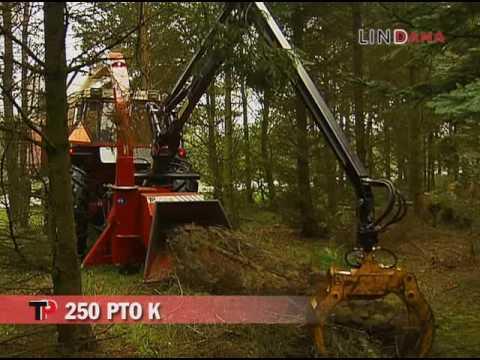 TP 250 PTO K wood chipper