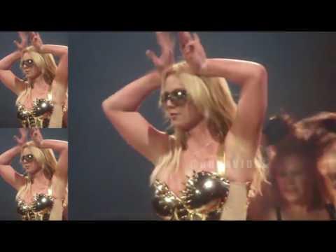 Britney Slave 4 U Golden Armor Circus Tour 1st leg Edit