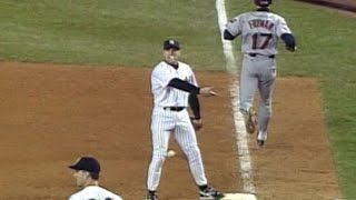 1998 ALCS Gm2: Wilson scores on Knoblauch's miscue