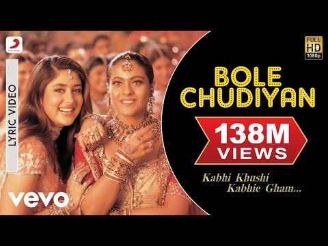 Xxx Mp4 Bole Chudiyan Lyric Kabhi Khushi Kabhie Gham Amitabh SRK Hrithik Kajol Kareena 3gp Sex