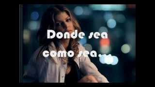 Whenever- Black Eyed Peas (Subtitulada al español)