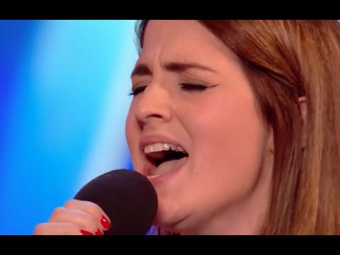 Simon Stops Sian and Asks Her a Second Song Watch What Happens Next Audition 3 BGT2017
