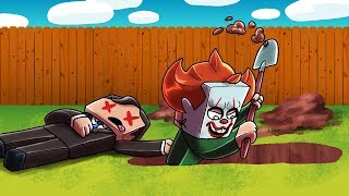 Minecraft | Baby Sitter - PENNYWISE IS MY DAD NOW? (IT the Clowns Secret)