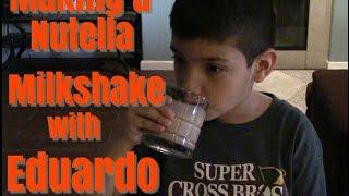 #DaIVNerds - #HowTo Make a Nutella Milkshake