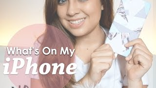 What's On My iPhone + Give Away!!! (ENDED)