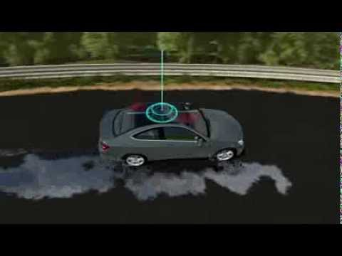 watch Mercedes-Benz ESP Technology -- Vehicle Electronic Stability Program