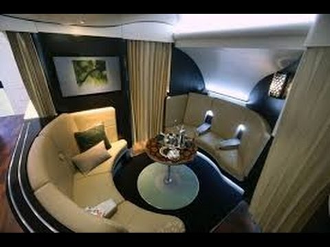 Etihad First Class Apartments Sydney to Abu Dhabi EY 455 Airbus A380 800