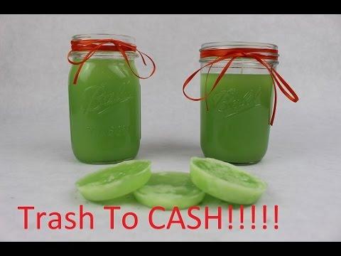 Trash To Cash - Making Candles